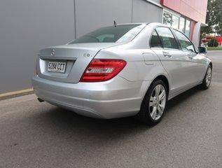 2012 Mercedes-Benz C-Class W204 MY12 C200 CDI BlueEFFICIENCY 7G-Tronic + Silver 7 Speed