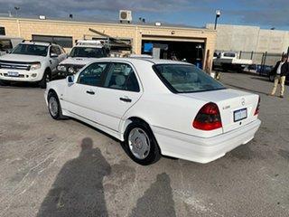 1997 Mercedes-Benz C200 W202 Classic White 5 Speed Automatic Sedan