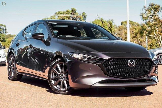 New Mazda 3 BP2H76 G20 SKYACTIV-MT Evolve Waitara, 2021 Mazda 3 BP2H76 G20 SKYACTIV-MT Evolve Grey 6 Speed Manual Hatchback