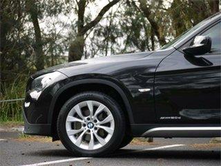 2010 BMW X1 E84 sDrive20d Steptronic Black 6 Speed Sports Automatic Wagon
