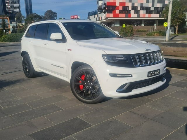 Used Jeep Grand Cherokee WK MY15 SRT South Melbourne, 2015 Jeep Grand Cherokee WK MY15 SRT White 8 Speed Sports Automatic Wagon