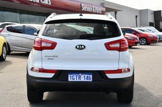 2013 Kia Sportage SL Series II MY13 Platinum White 6 Speed Sports Automatic Wagon