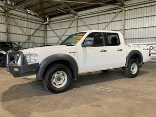 2008 Ford Ranger PJ XL Crew Cab White 5 Speed Manual Utility.