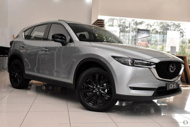 New Mazda CX-5 KF4WLA GT SKYACTIV-Drive i-ACTIV AWD SP Waitara, 2021 Mazda CX-5 KF4WLA GT SKYACTIV-Drive i-ACTIV AWD SP Silver 6 Speed Sports Automatic Wagon