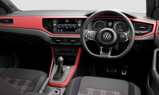 2021 Volkswagen Polo AW MY21 GTI DSG White 6 Speed Sports Automatic Dual Clutch Hatchback