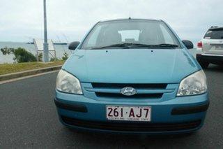 2003 Hyundai Getz TB XL Blue 5 Speed Manual Hatchback