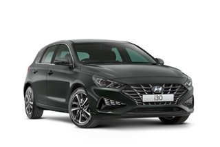 2021 Hyundai i30 PD.V4 MY22 Amazon Gray 6 Speed Sports Automatic Hatchback