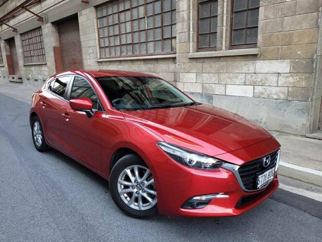 Used Mazda 3 BN5478 Touring SKYACTIV-Drive Cheltenham, 2016 Mazda 3 BN5478 Touring SKYACTIV-Drive Soul Red 6 Speed Sports Automatic Hatchback