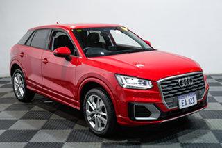 2018 Audi Q2 GA MY18 Sport S Tronic Quattro Red 7 Speed Sports Automatic Dual Clutch Wagon
