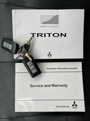 2016 Mitsubishi Triton MQ Exceed White 5 Speed Automatic Dual Cab