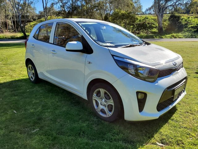Used Kia Picanto JA MY18 S Wodonga, 2017 Kia Picanto JA MY18 S White 4 Speed Automatic Hatchback