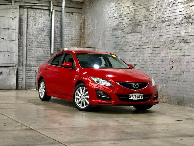 Used Mazda 6 GH1052 MY12 Touring Mile End South, 2012 Mazda 6 GH1052 MY12 Touring Red 5 Speed Sports Automatic Sedan