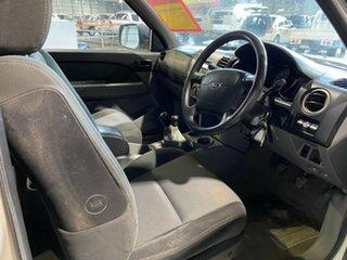 2008 Ford Ranger PJ XL Crew Cab White 5 Speed Manual Utility