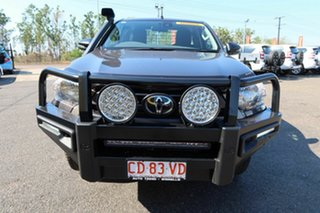 2020 Toyota Hilux GUN126R SR Extra Cab Grey 6 Speed Sports Automatic Cab Chassis.