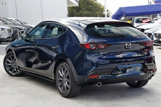 2021 Mazda 3 BP2H7A G20 SKYACTIV-Drive Touring Blue 6 Speed Sports Automatic Hatchback