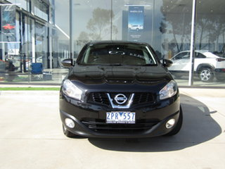 2013 Nissan Dualis J10W Series 3 MY12 Ti Hatch X-tronic 2WD Black 6 Speed Constant Variable.