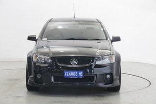 2012 Holden Ute VE II SV6 Thunder Black 6 Speed Manual Utility.