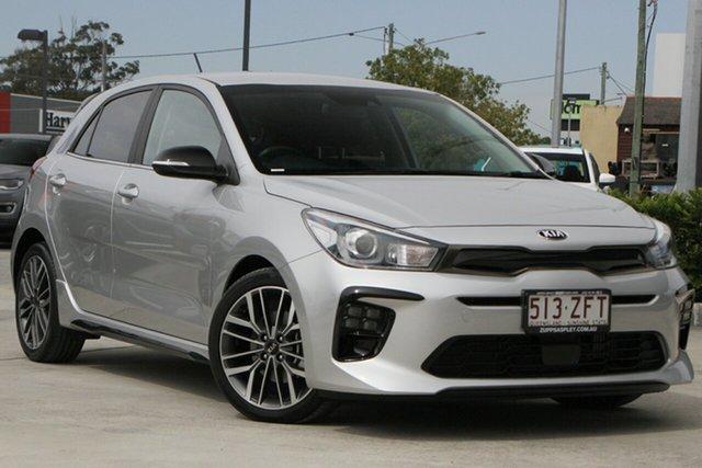 Used Kia Rio YB MY19 Sport Aspley, 2019 Kia Rio YB MY19 Sport Silver 6 Speed Automatic Hatchback