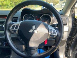 2010 Mitsubishi Lancer CJ MY10 Activ Grey 6 Speed Constant Variable Sedan
