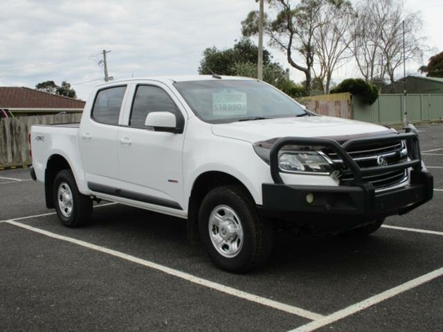 Used Holden Colorado LS (4x4) Timboon, 2018 Holden Colorado RG Turbo LS (4x4) White Automatic Utility