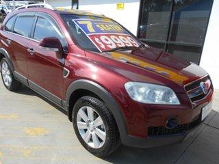2008 Holden Captiva CG MY09 LX AWD Maroon 5 Speed Sports Automatic Wagon.
