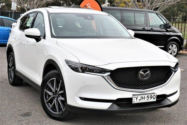 Used Mazda CX-5 KF4W2A GT SKYACTIV-Drive i-ACTIV AWD Phillip, 2018 Mazda CX-5 KF4W2A GT SKYACTIV-Drive i-ACTIV AWD White 6 Speed Sports Automatic Wagon