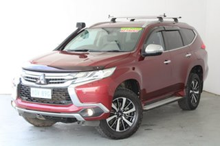 2016 Mitsubishi Pajero Sport QE MY16 Exceed Red 8 Speed Sports Automatic Wagon