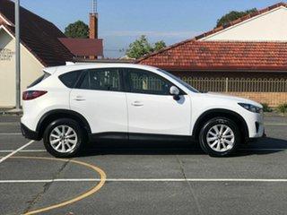 2012 Mazda CX-5 KE1071 Maxx SKYACTIV-Drive Sport White 6 Speed Sports Automatic Wagon.
