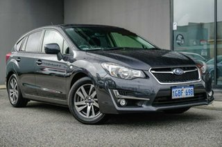 2016 Subaru Impreza G4 MY16 2.0i-L Lineartronic AWD Special Edition Grey 6 Speed Constant Variable.