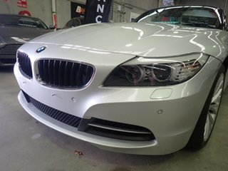 2009 BMW Z4 E89 sDrive 23I Silver Mica Metallic 6 Speed Auto Steptronic Roadster.