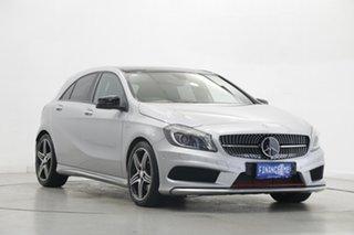 2014 Mercedes-Benz A-Class W176 A250 D-CT Sport Silver 7 Speed Sports Automatic Dual Clutch