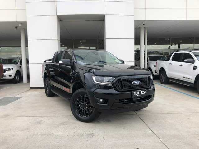 Demo Ford Ranger PX MkIII 2021.75MY FX4 Oakleigh, 2021 Ford Ranger PX MkIII 2021.75MY FX4 Black 6 Speed Sports Automatic Double Cab Pick Up