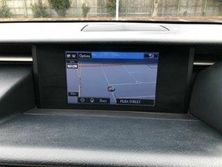 2013 Lexus IS GSE30R IS250 F Sport White 6 Speed Sports Automatic Sedan