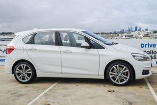 2015 BMW 2 Series F45 220i Active Tourer Steptronic Luxury Line White 8 Speed Automatic Hatchback.
