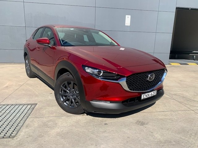 Demo Mazda CX-30 DM2W7A G20 SKYACTIV-Drive Pure Alexandria, 2021 Mazda CX-30 DM2W7A G20 SKYACTIV-Drive Pure Soul Red Crystal 6 Speed Sports Automatic Wagon