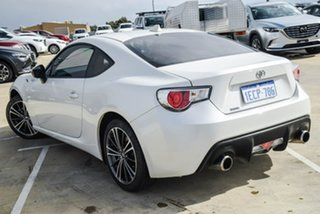 2012 Toyota 86 ZN6 GTS White 6 Speed Sports Automatic Coupe.