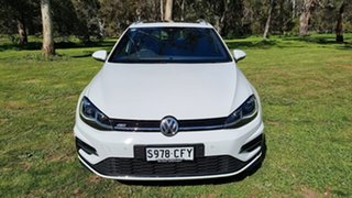 2020 Volkswagen Golf 7.5 MY20 110TSI DSG Highline Pure White 7 Speed Sports Automatic Dual Clutch.