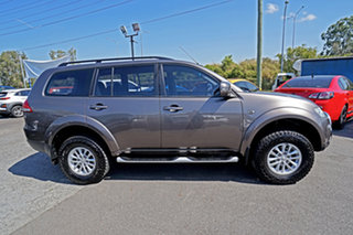 2014 Mitsubishi Challenger PC (KH) MY14 LS Brown 5 Speed Sports Automatic Wagon
