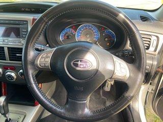 2008 Subaru Forester S3 MY09 XS AWD Premium White 4 Speed Sports Automatic Wagon