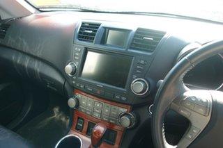 2009 Toyota Kluger GSU45R Grande AWD White 5 Speed Sports Automatic Wagon