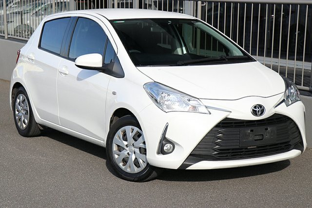 Pre-Owned Toyota Yaris NCP131R SX Preston, 2019 Toyota Yaris NCP131R SX Glacier White 4 Speed Automatic Hatchback