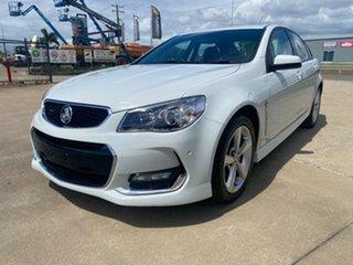 2015 Holden Commodore VF II MY16 SV6 White/210116 6 Speed Sports Automatic Sedan