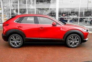 2021 Mazda CX-30 DM4WLA G25 SKYACTIV-Drive i-ACTIV AWD Astina Red 6 Speed Sports Automatic Wagon