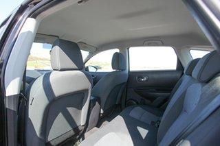2012 Nissan Dualis J10 Series II MY2010 ST Hatch Black 6 Speed Manual Hatchback