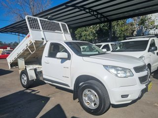 2014 Holden Colorado RG MY14 LX (4x2) 6 Speed Automatic Cab Chassis