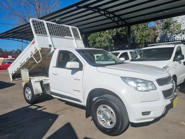 Used Holden Colorado RG MY14 LX (4x2) Bankstown, 2014 Holden Colorado RG MY14 LX (4x2) 6 Speed Automatic Cab Chassis