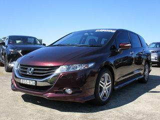 2010 Honda Odyssey 4th Gen MY10 Luxury Red 5 Speed Sports Automatic Wagon