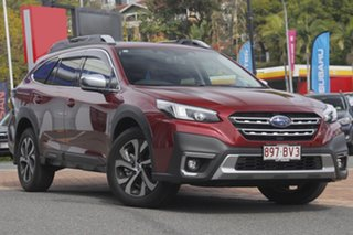 2021 Subaru Outback B7A MY21 AWD Touring CVT Crimson Red 8 Speed Constant Variable Wagon.