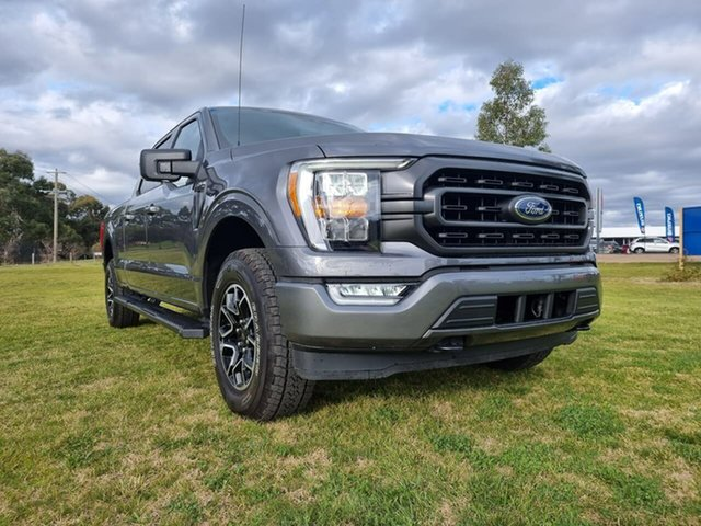 Used Ford F150 XLT Melton, 2021 Ford F150 (No Series) XLT Grey Automatic Utility