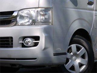 2009 Toyota HiAce KDH201V Super GL Silver 4 Speed Automatic Van
